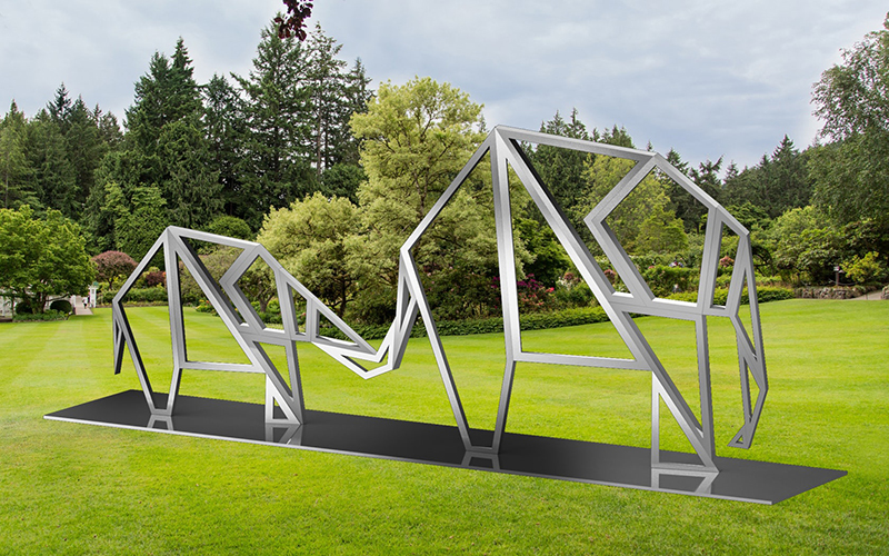 скульптура для сада в стиле модерн