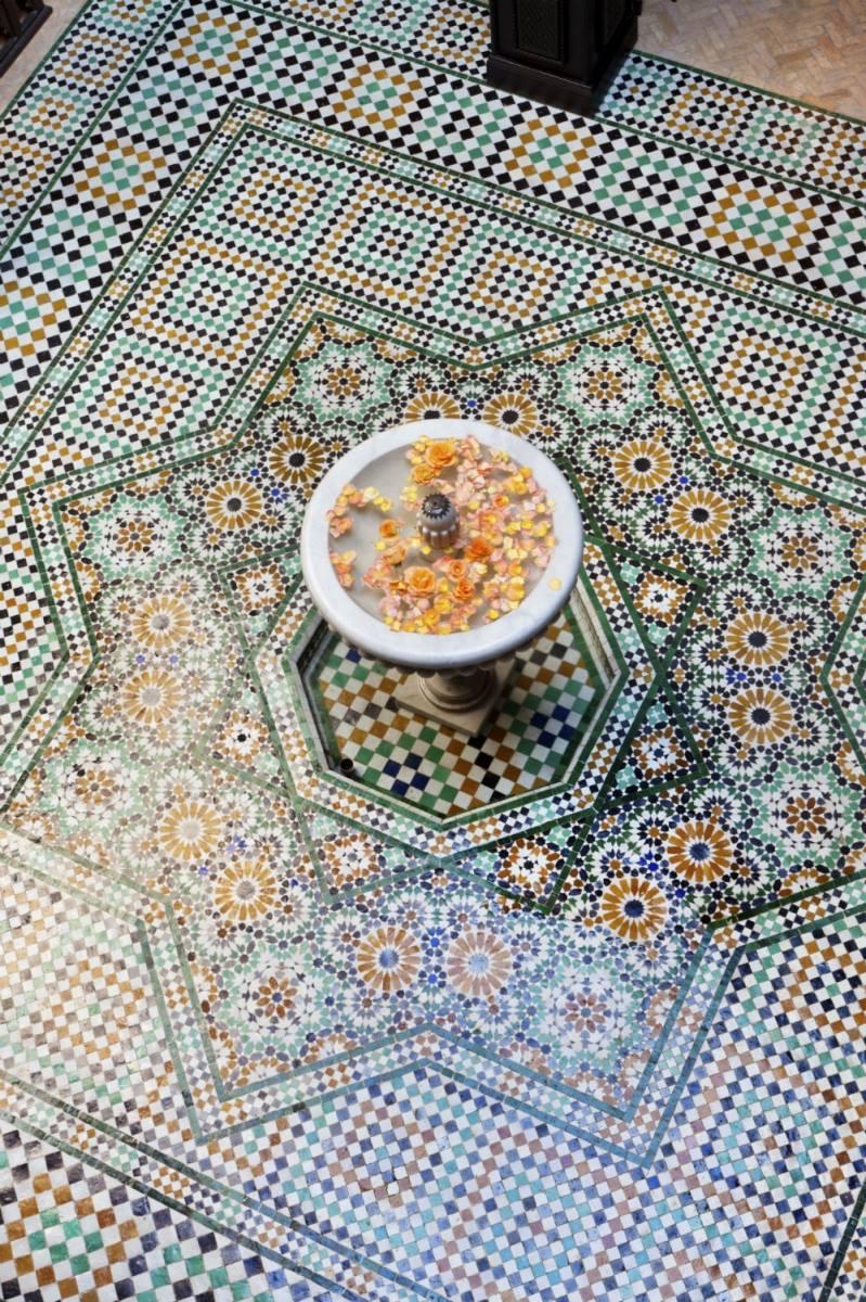 декор в марокканском стиле ландшафтного дизайна