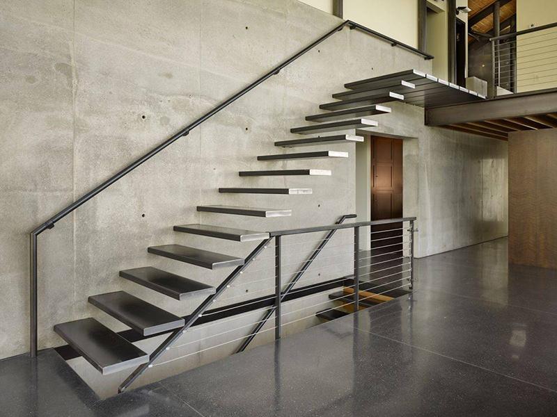 Консольные лестницы в sip доме