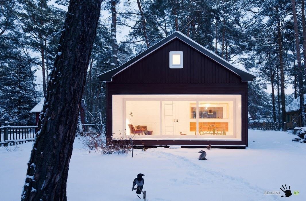 скандинавский стиль фасад дома
