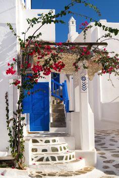 украшение крыльца греческого дома