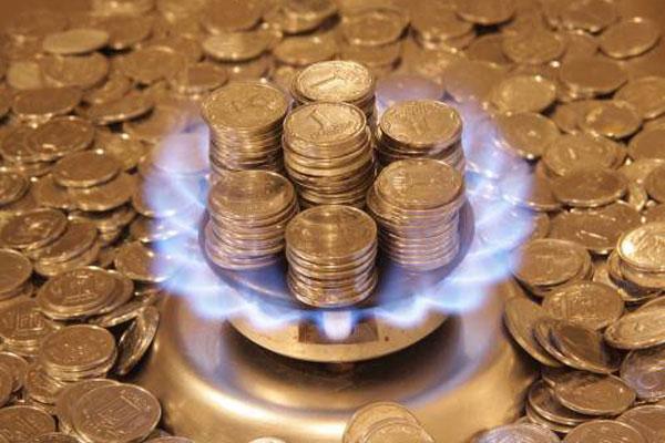 платежка за газ