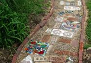 садовая дорожка украинский дом