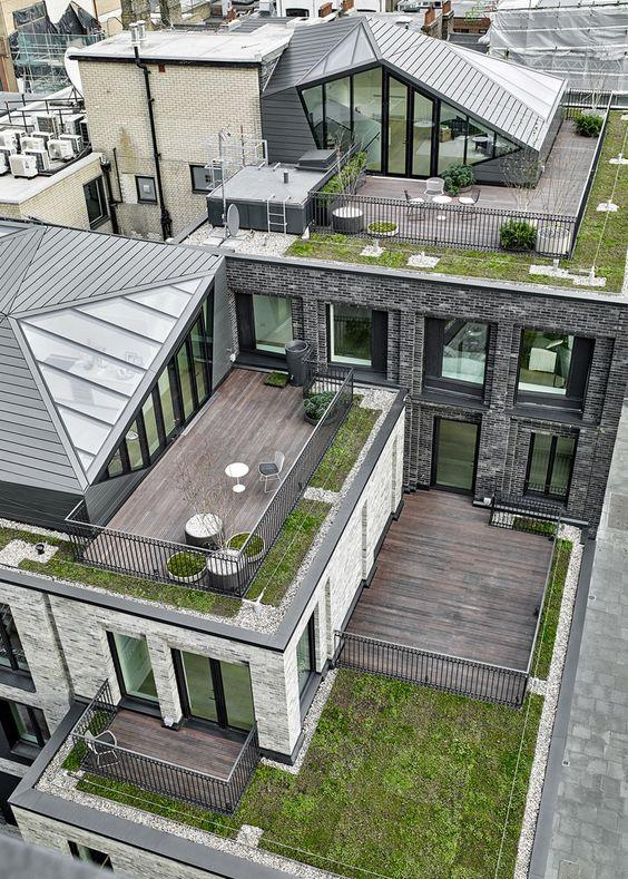 многоуровнвеая крыша