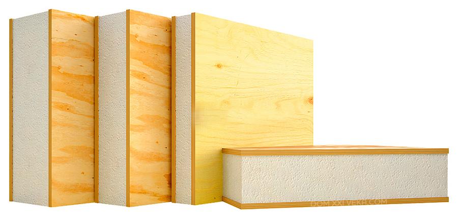 материалы, из которых он будет изготовлен дом из Sip панелей