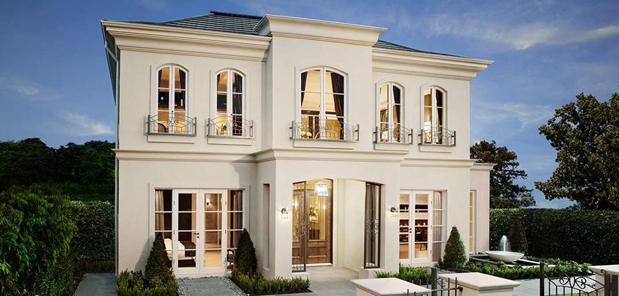 Внешний вид дома, фасад