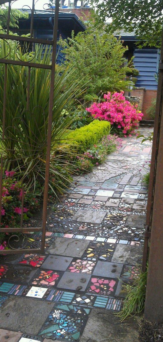 садовая дорожка керамическая