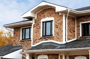 имитация кирпча фасад дома из сип-панелей