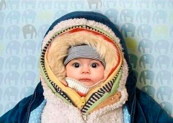 ребенку холодно