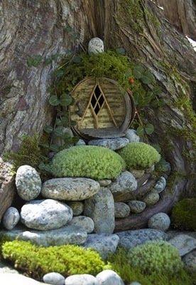 уютный закуток в саду