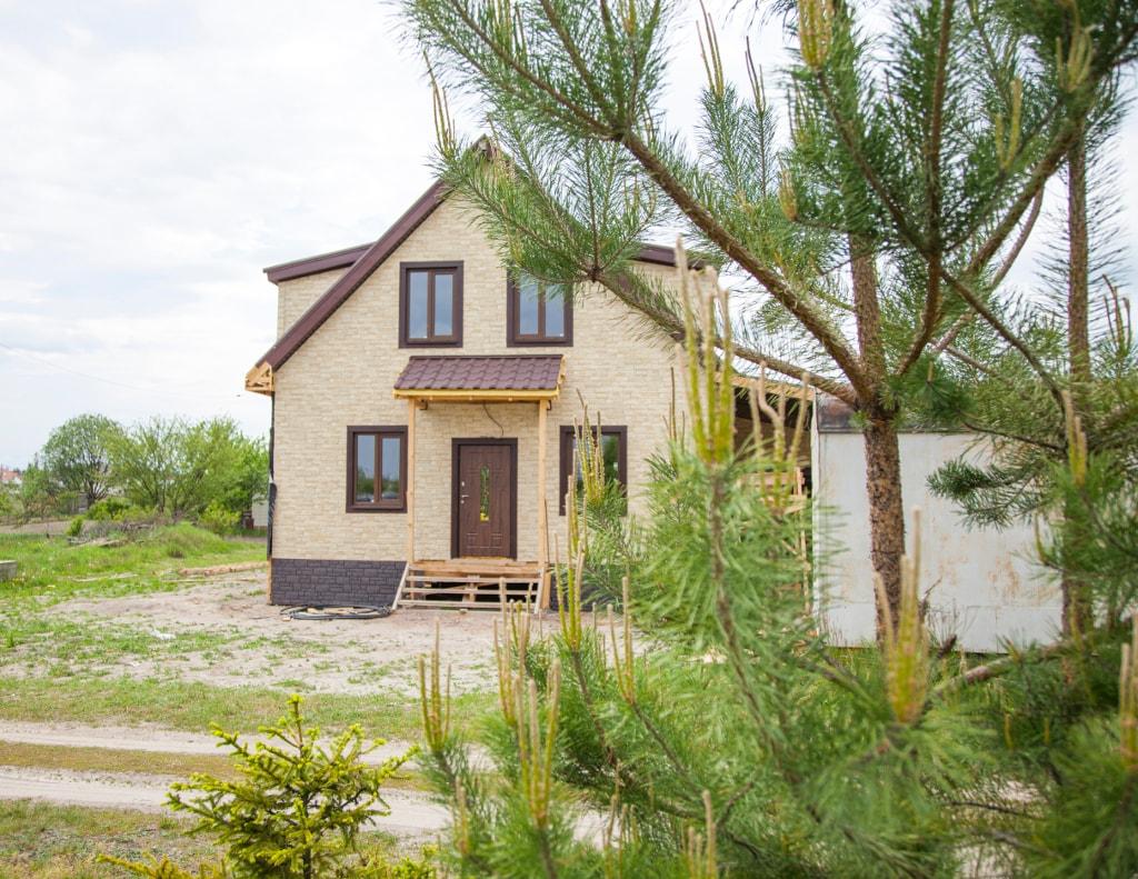 канадский дом из сип панелей в Житомире - готовые объекты компании