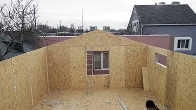 Канадский дом из сип панелей - объект компании