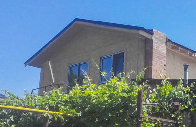 """Канадский дом из сип панелей - объект компании """"Украинский дом"""" в Марганце"""