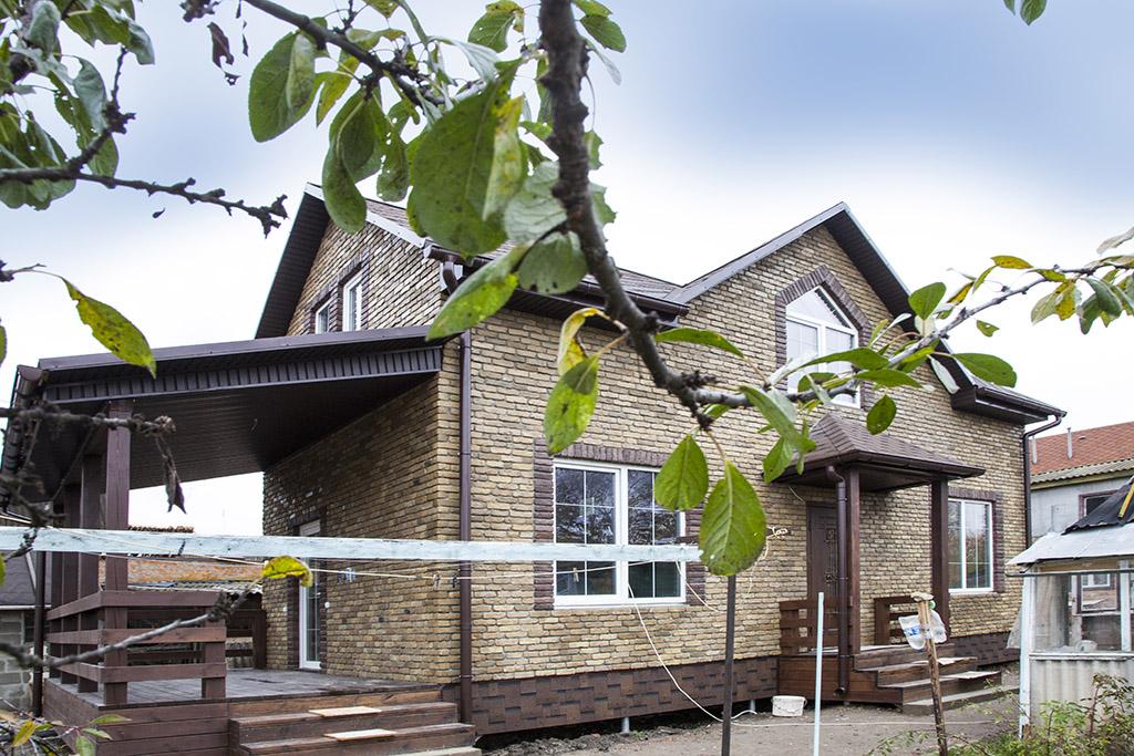 канадский дом в Миргороде - готовый объект компании Украинский дом