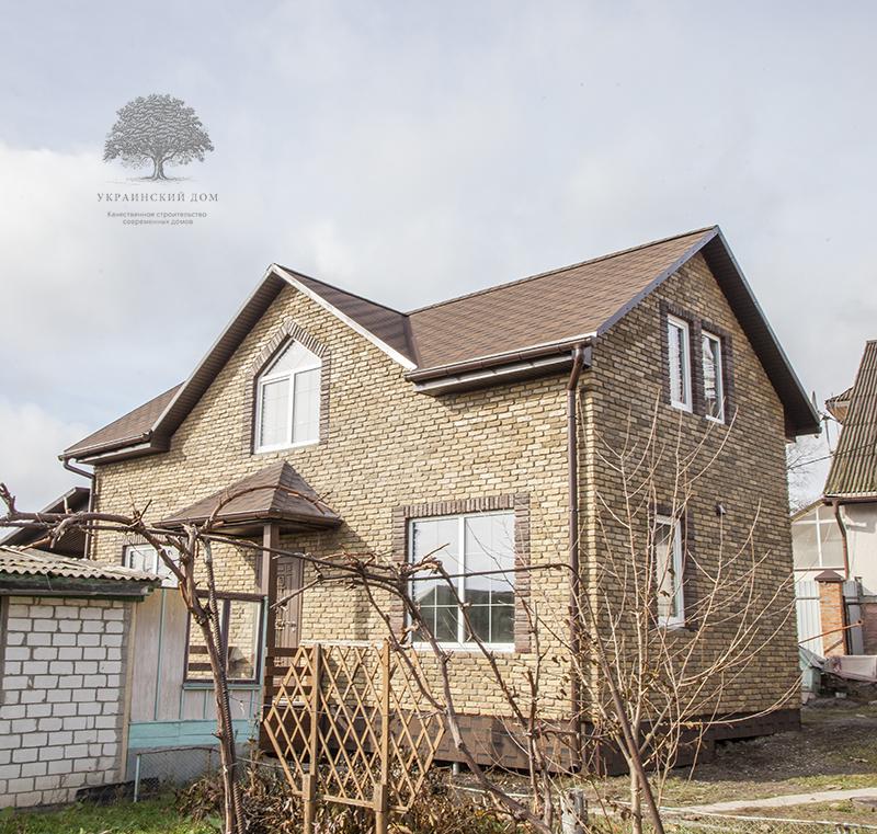 """Готовый дом - наша гордость! - канадский дом из сип панелей в Миргороде - готовые объекты строительной компании """"Украинский дом"""""""
