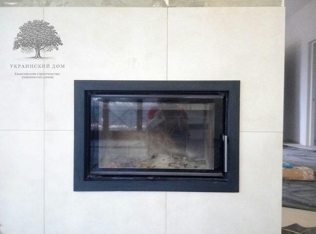 Теплый канадский дом с гаражом в Запорожье - ограждение веранды