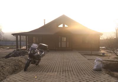 """Канадский дом из сип панелей - объект компании """"Украинский дом"""" в Запорожье"""