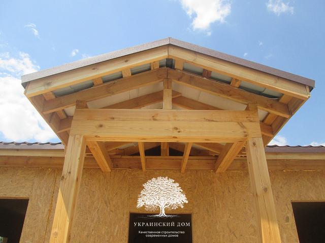 """Канадский дом под ключ из сип панелей в Запорожье - """"Закрытый дом"""" - домокомплект и кровля"""