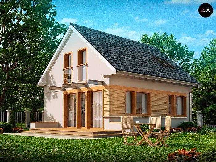Проекта СИП дома Z211 - фасад