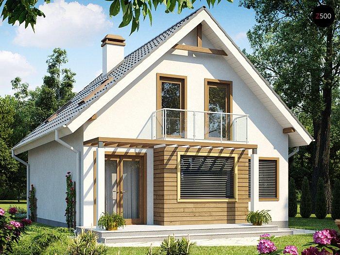Проекта СИП дома Z99 - фото фасада