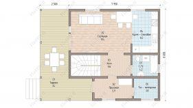 Проект дома Клязьма - вид 2