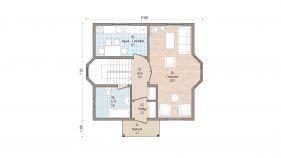 Проект дома Кубинка - вид 2