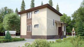 Проект дома Волково - вид 1