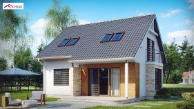 Проект дома Z 102 - вид 1