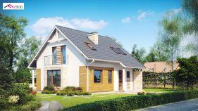 Проект дома Z 102 - вид 2