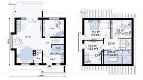 Проект дома Z 102 - схема