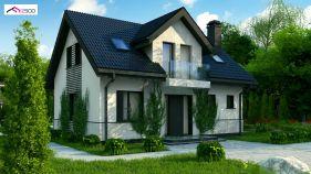 Проект дома Z 13 - вид 1