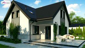 Проект дома Z 13 - вид 2