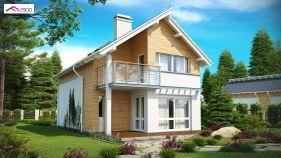 Проект дома Z 137 - вид 1