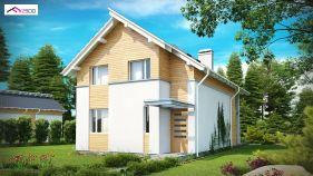 Проект дома Z 137 - вид 2