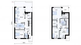 Проект дома Z 137 - схема