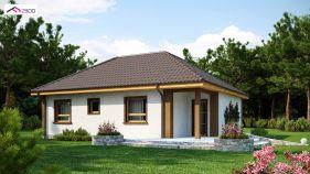 Проект дома Z 15 - вид 1
