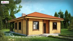 Проект дома Z 16 - вид 2