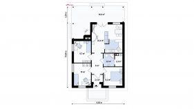 Проект дома Z 16 - схема