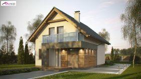 Проект дома Z 174 - вид 1