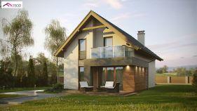Проект дома Z 174 - вид 2