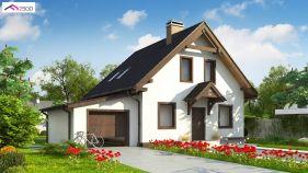 Проект дома Z 1 GL - вид 1