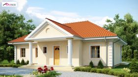 Проект дома Z 2 - вид 1