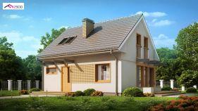 Проект дома Z 211 - вид 2
