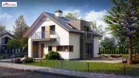 Проект дома Z 245 - вид 2
