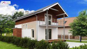 Проект дома Z 25 - вид 1