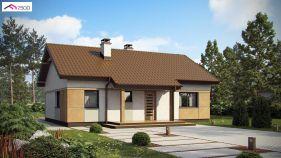 Проект дома Z 253 - вид 1