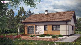 Проект дома Z 253 - вид 2