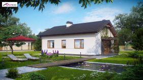 Проект дома Z 254 - вид 2