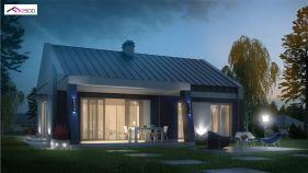 Проект дома Z 256 - вид 1