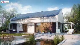 Проект дома Z 258 - вид 2
